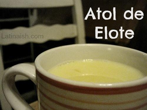 Salvadoran Atol de Elote // Corn Drink from El Salvador