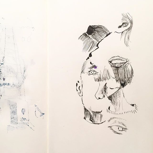 "ayaenomura2017/09/23 "" Blonde "" ' ' #art #drawing #doodle #artwork #artoftheday #artlife #illust #illustration #instart #instadraw #instaartist #illustagram  #アート #イラスト #イラストレーション #スケッチ #デッサン #ペン画 #ayaenomura #nofilter #moleskine #moleskine_arts #モレスキン #インク #ink #inkart #portrait #blonde2017/09/23 23:16:34"