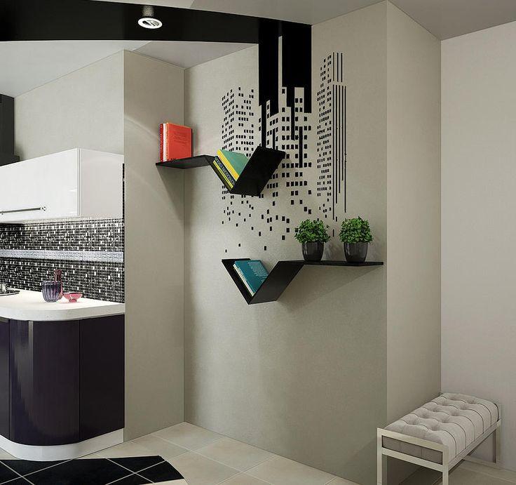 Дизайн интерьера квартиры Идея для настенного декора