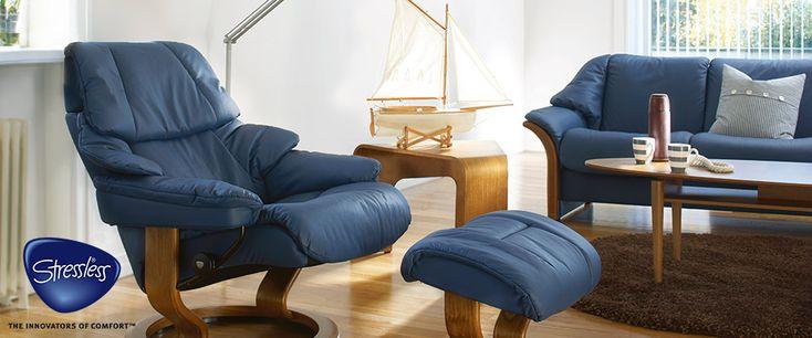 Stressless Klassiker Sessel Reno bei Pfiff Möbel in Wismar, Schwerin und Lübeck