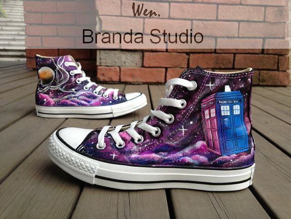 Hey, I found this really awesome Etsy listing at http://www.etsy.com/listing/156857614/doctor-who-shoesgalaxy-shoesstudio-hand