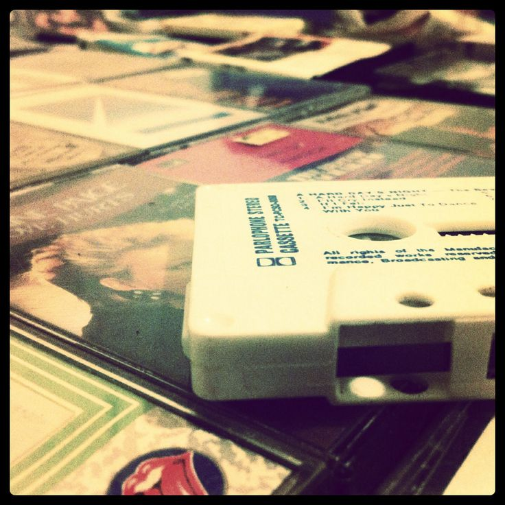 Cassette tapes - taking me back to the old school
