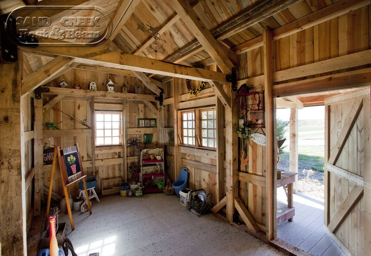 Garden shed interior garden sheds pinterest for Garden sheds interior designs