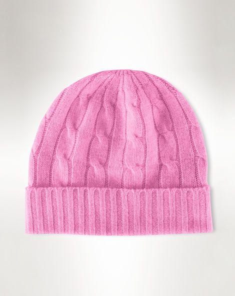Cable-Knit Cashmere Hat - Polo Ralph Lauren Sale - RalphLauren.com
