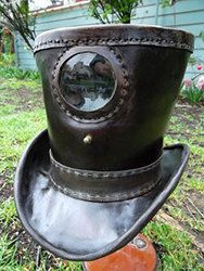 Praxinoscope Hat by Ramon Martin