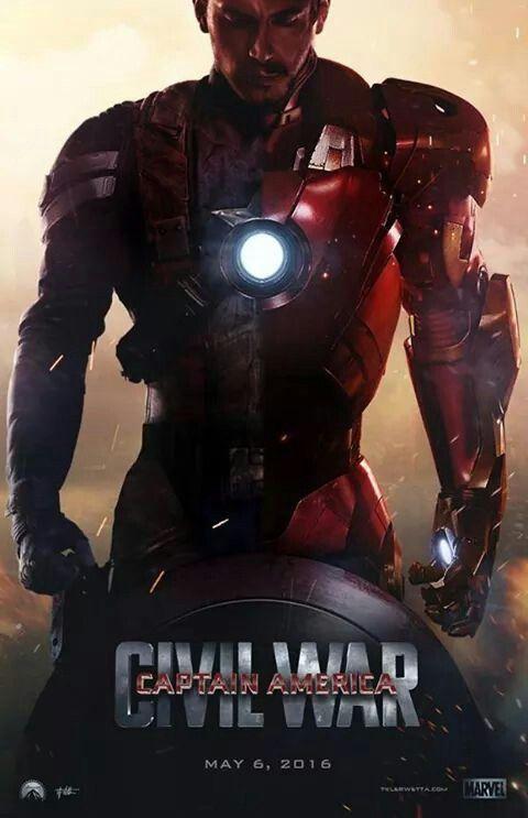 Captian America 3 Civil War-Iron Man................