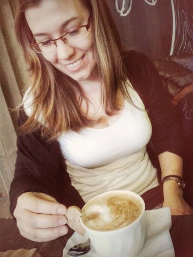 Coffee & my Cousin :)