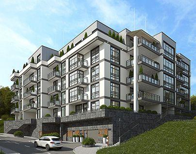 The project is a residential club house. Ukraine, Kiev   Проект жилого клубного дома. Украина, Киев    http://dom-inco.com.ua/