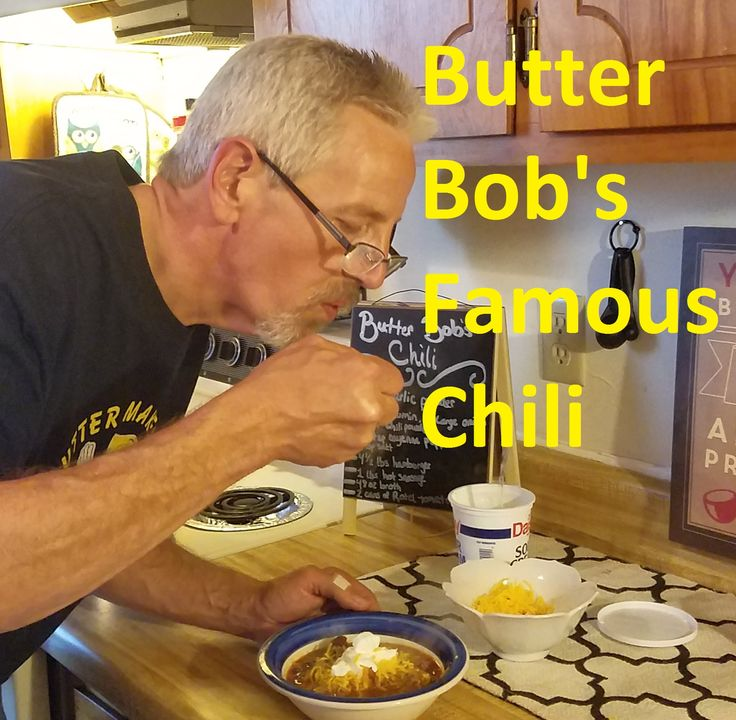 Butter Bob's Chilli | low carb recipes | Pinterest | Butter, Bobs and Chili
