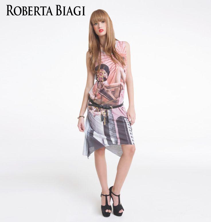 Spring Summer collection Roberta Biagi Outfit Lookbook, dress