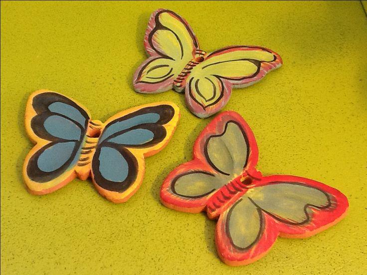 Κεραμικες πεταλουδες