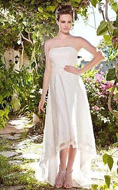 ASHLEE - Vestido de Noiva em Cetim e Tule – BRL R$ 478,04