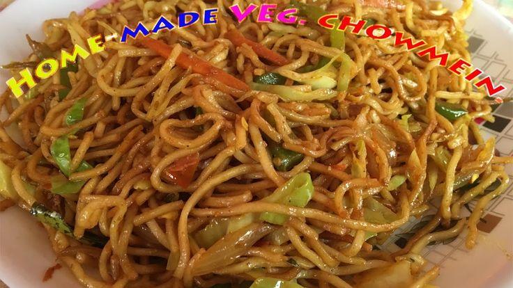 Veg. Chowmein Recipe