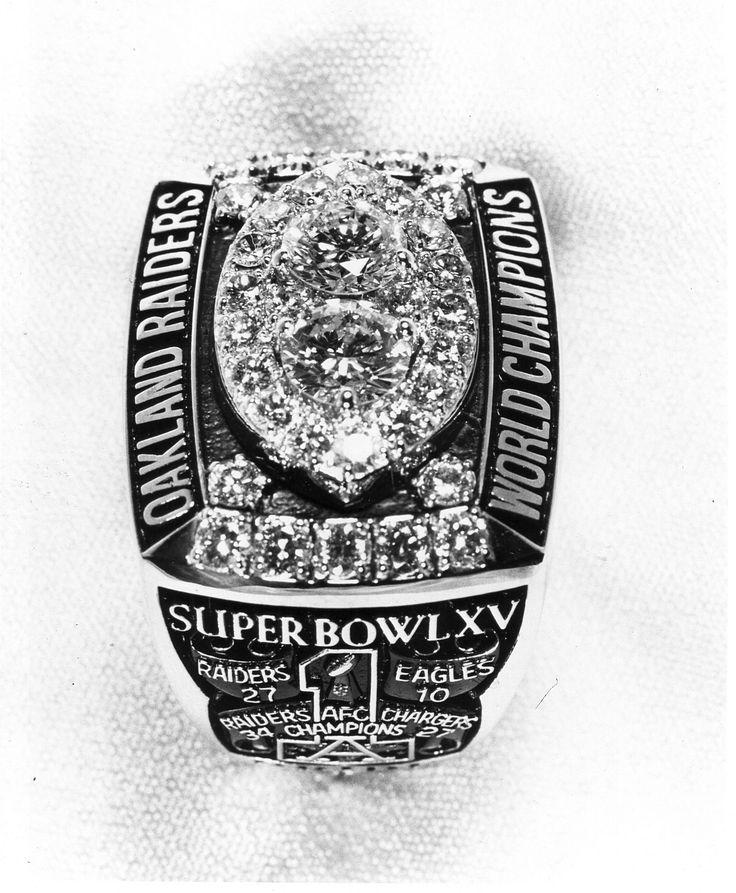 Oakland Raiders Super Bowl XV Ring
