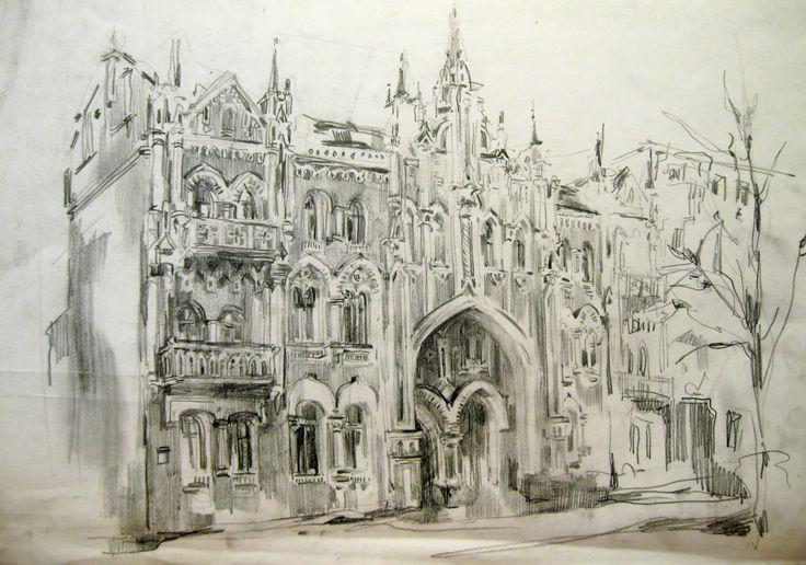 sketches by Zorina Getman (pencil 30х40)