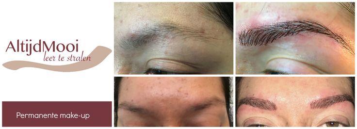 AltijdMooi permanente make-up 3d haristrokes www.altijdmooi.com