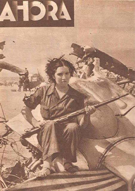 L'Histoire est mon comptoir!: Tuée en Espagne... Quelques femmes dans la guerre d'Espagne.