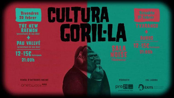 Cultura Goril·la Promo on Vimeo #motiongraphic #motiondesign #gorila #character #personaje #festival #música #musicfestival
