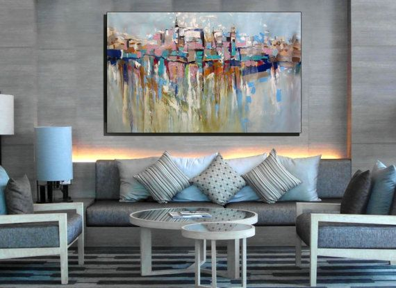 Large Modern Wall Art modern art for living room walls. living room wall art living