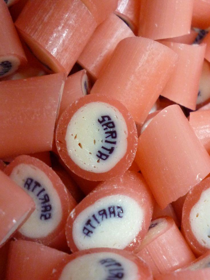 Caramelos artesanal personalizado con el nombre de Sarita. #CaramelosArtesanalesPersonalizados