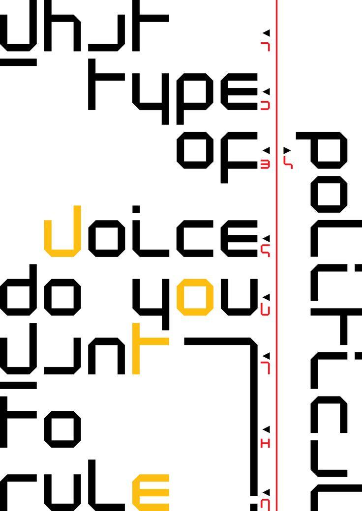 Wim Crouwel - New alphabet – Designed in 1996