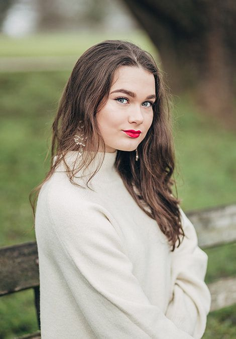 Winter fashion and lifestyle photography in Mote Park