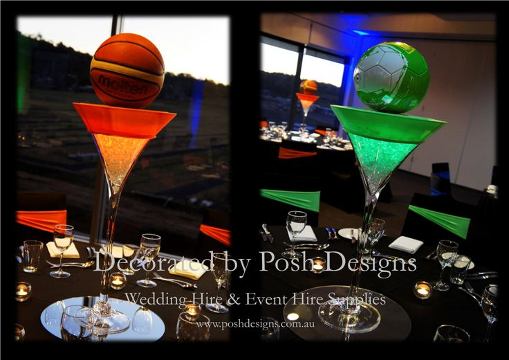 #corporate #sportingthemedtablecentres #theming available at #poshdesignsweddings - #sydneyfunctions #southcoastfunctions #wollongongfunctions #canberrafunctions #southernhighlandfunctions #campbelltownfunctions #penrithfunctions #bathurstfunctions #illawarrafunctions All stock owned by Posh Designs Wedding & Event Supplies – lisa@poshdesigns.com.au or visit www.poshdesigns.com.au or www.facebook.com/.poshdesigns.com.au #decorations #Corporate #event decoration #Fundraising event decoration