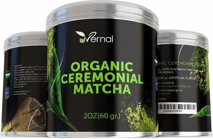 Traditional Uvernal Organic Ceremonial Matcha USDA Organic Green Tea Powder 2 oz Sealed $35, ,