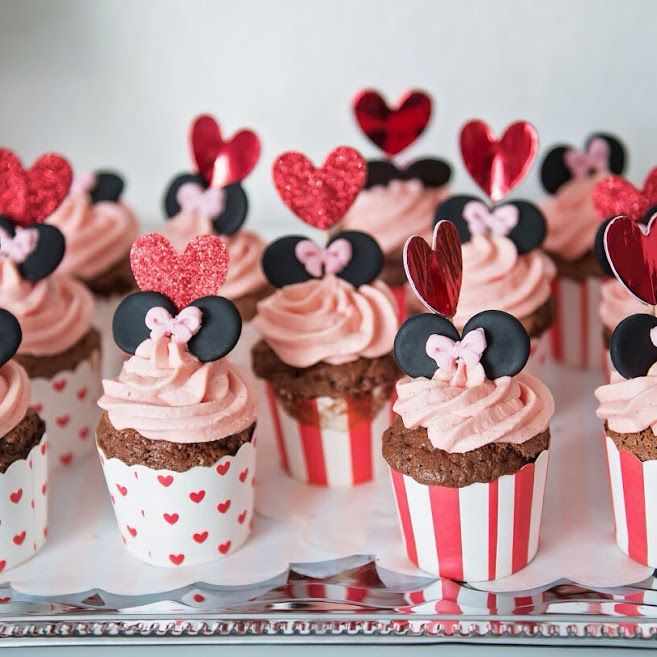 Schoko Cupcake mit Vanilletopping