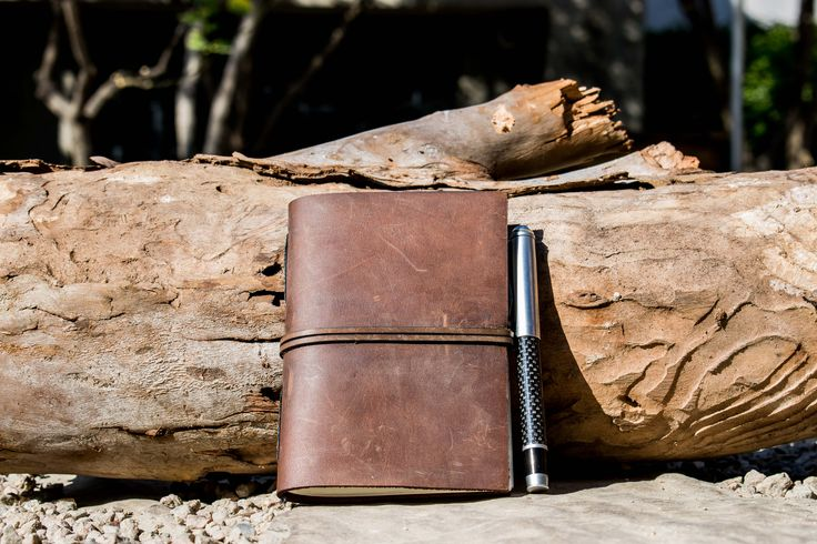 iwasmade leather bound journal from iiilovelocal