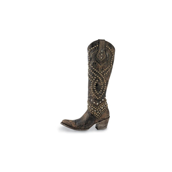 Ladies Western Boots-Cowgirl Boots-Cowgirl Mules by Lucchese and Old Gringo, found on polyvore.com