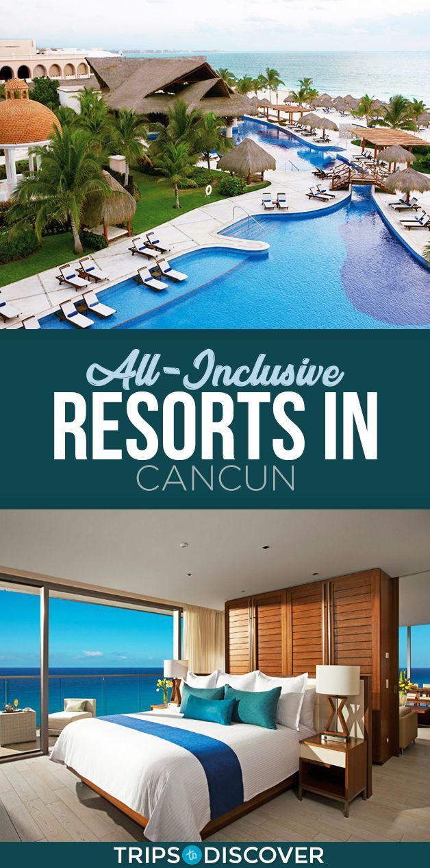 Top 8 All Inclusive Resorts In Cancun Tripstodiscover Cancun Mexico Resorts Cancun Hotels Cancun Resorts