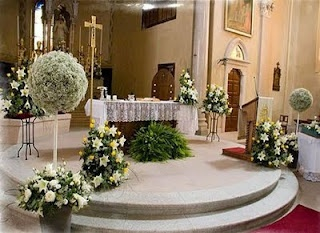 The 140 best church wedding ceremony with decoration images on wedding decorations ideas wedding decoration ideas for church ceremony junglespirit Image collections