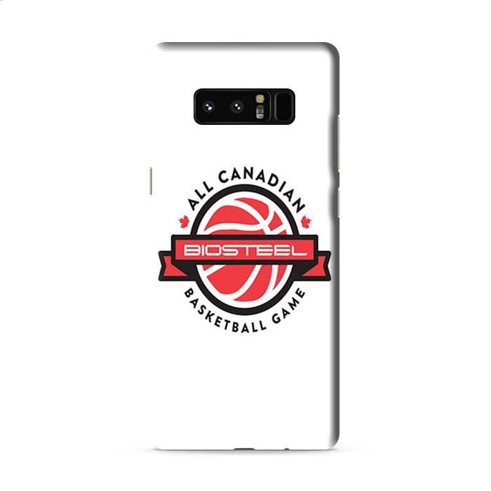 All Canadian Biosteel Basketball Game Samsung Galaxy Note 5 3D Case Caseperson