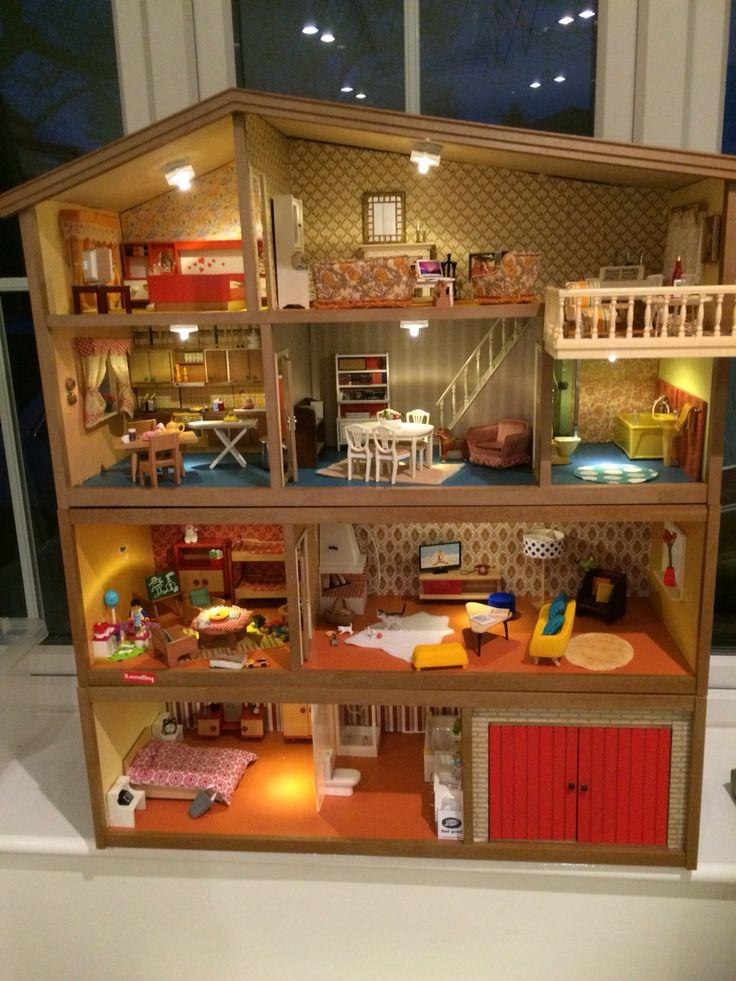 343 best maisons de poup es lundby images on pinterest - Maison de poupee lundby ...