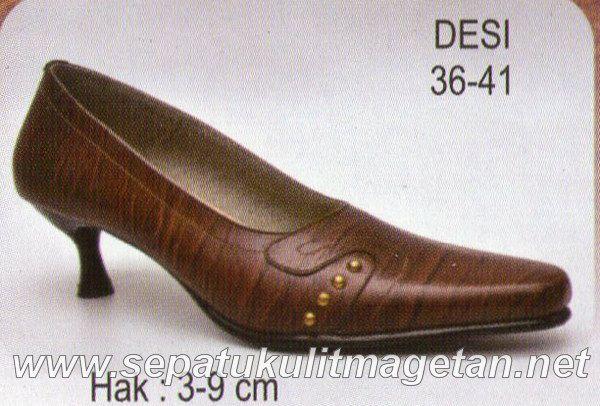 Sepatu Kulit Asli Wanita CJ Desi