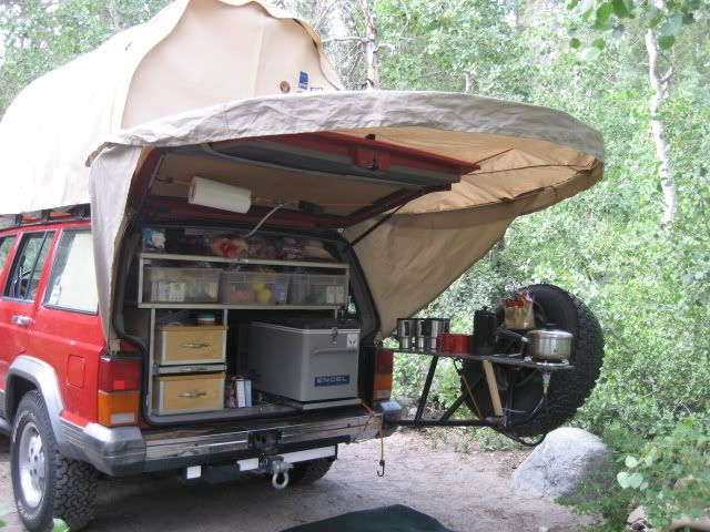 Interesting Kitchen Set Up Camping Pinterest