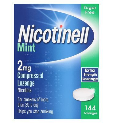 Nicotinell Mint 2mg Lozenge - 144 lozenges 52 Advantage card points. An aid to combat the withdrawal symptoms caused by giving up smoking.See details below, always read the labelSuitable for: Suitable for: Adults aged 18 years and overActive i http://www.MightGet.com/february-2017-1/nicotinell-mint-2mg-lozenge--144-lozenges.asp