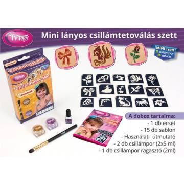 Lányos Mini Csillámtetoválás - Tytoo - Egyszerbolt