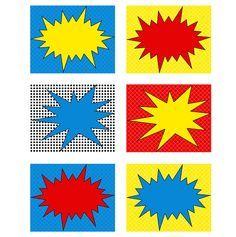 Free Printable Superhero Invitations   super hero printable food labels 2 you ll receive the super hero food ...