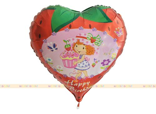 Strawberry Shortcake Foil Balloons. Visit us at www.wigglegiggle.com