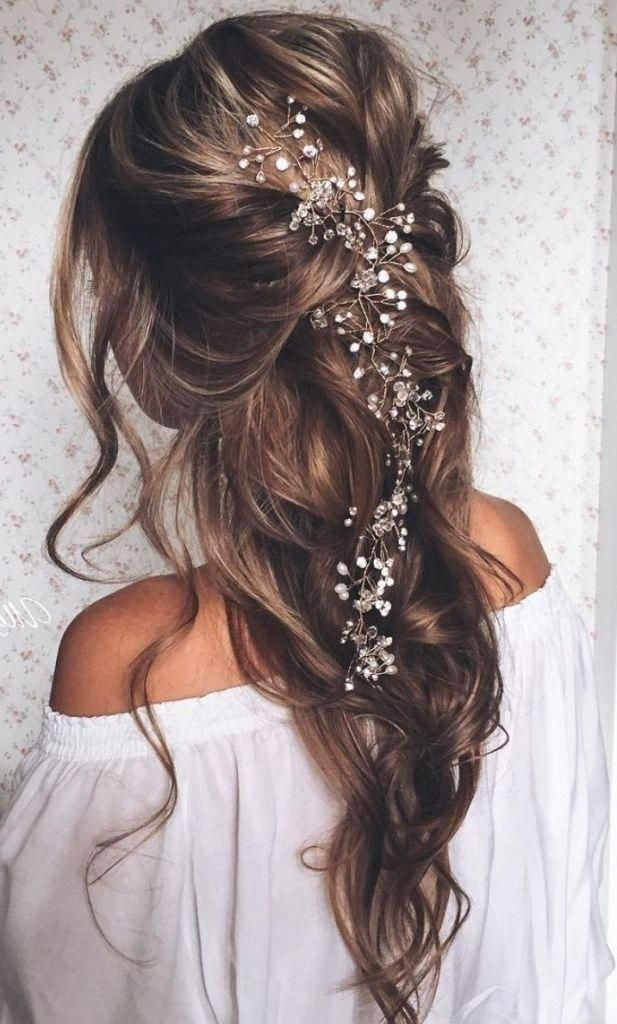 Image Result For Hairstyles For Engagement Party Hair Down