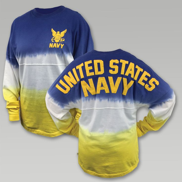 Navy Long Sleeve Spirit Jersey | Armed Forces Gear