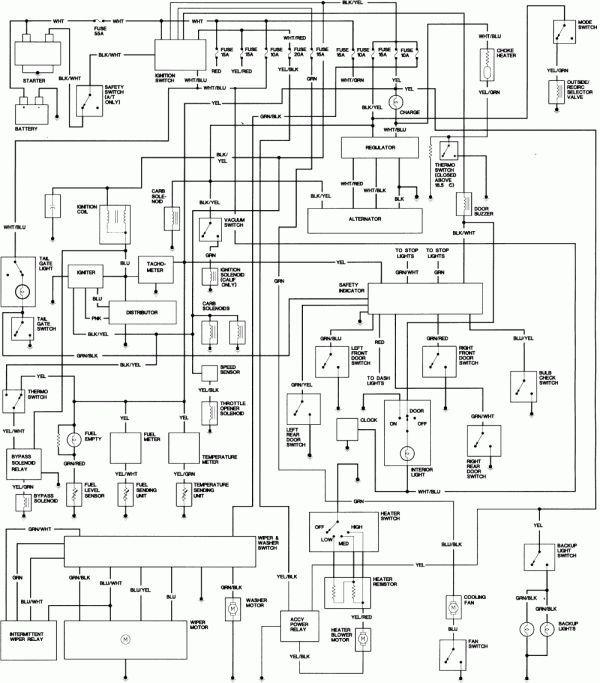 92 Honda Accord Engine Wiring Diagram And Honda Civic Wiring Everyday Wiring Diagram News A Wiring Diagram Is A Type Of Schematic In 2020 Honda Accord Diagram Honda