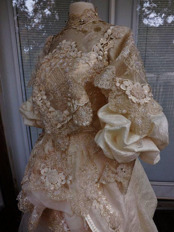Viktorianische Hochzeit Kleid Theater Film von Arabescque auf Etsy