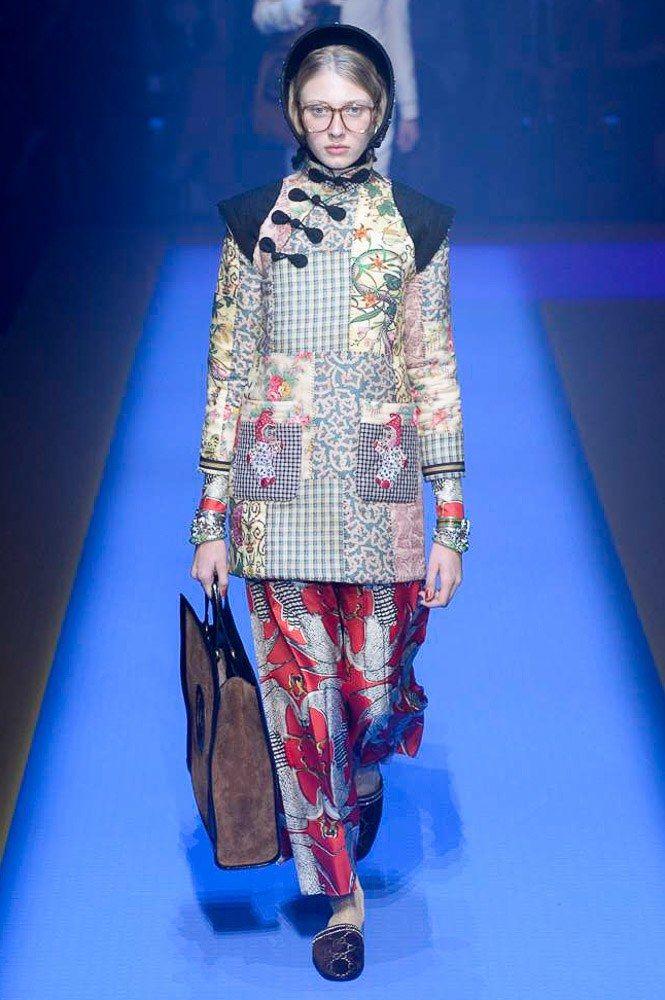 Gucci Spring 2018 Ready-to-Wear  Fashion Show - Maryna Polkanova