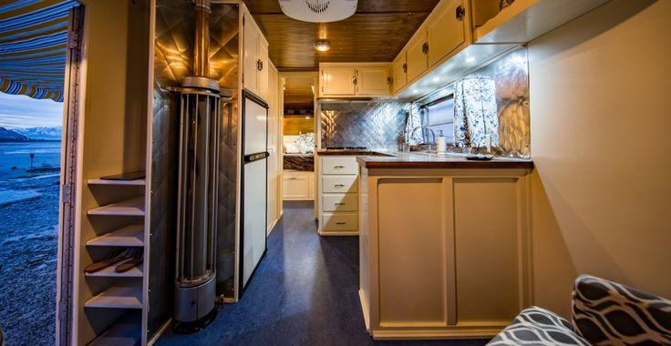 Boles Aero Ensenada - Vintage trailer restoration, including Airstream and canned ham, in Salt Lake City, UT.