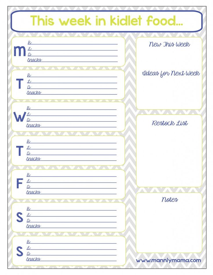 17 best ideas about daycare menu on pinterest toddler for Blank daycare menu template