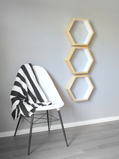 hexagones nids d 39 abeilles and tag res on pinterest. Black Bedroom Furniture Sets. Home Design Ideas