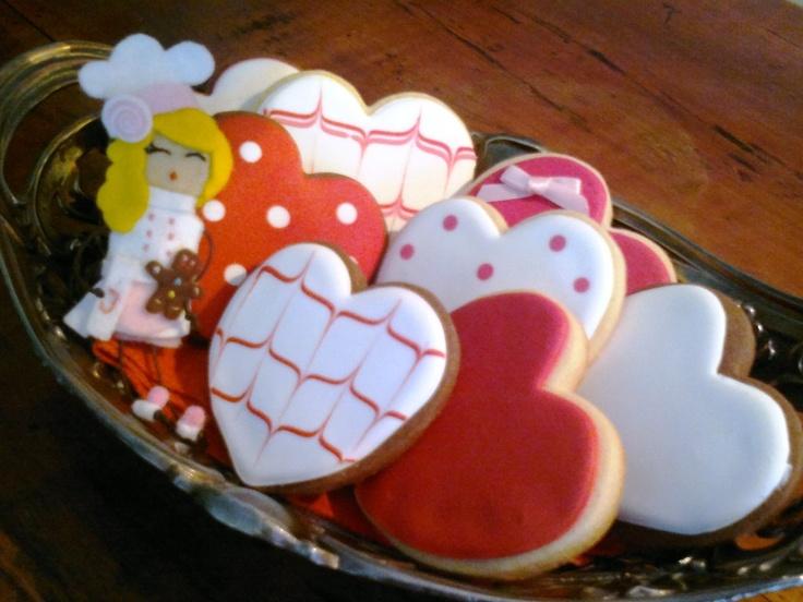 Galletas decoradas para san valent n st valentine 39 s - Dulces de san valentin ...